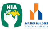 HIA & Master Builders Logos